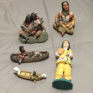 Other - Native American figurines